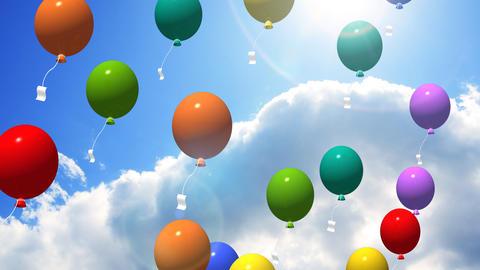 Balloon CG動画