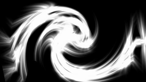 swirl fire rays laser light and airflow cyclone in... Stock Video Footage
