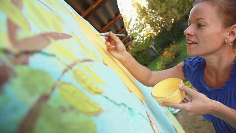 Painter Stock Video Footage