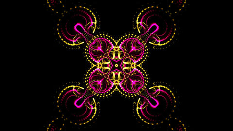 flower fancy pattern,gorgeous orient religion fancy background,classical consecu Animation