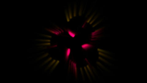 smooth particles silk show music rhythm,swirl fiber optic... Stock Video Footage