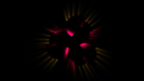 smooth particles silk show music rhythm,swirl fiber optic... Stock Video Footage