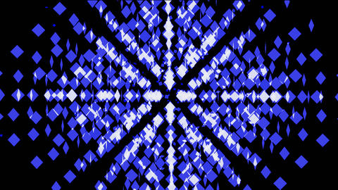 abstract mosaics square array,tech web background Stock Video Footage