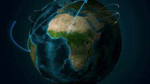 Earth Connected Animation
