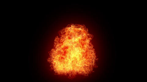 Explosion, super slowmotion Animation