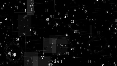 number and alphabet matrix in computer monitor,finance... Stock Video Footage