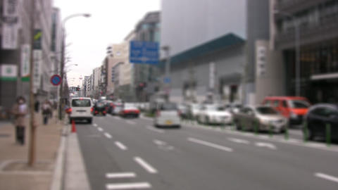 Street of Kyoto Stock Video Footage