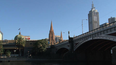 Bridge with St. Paul's Cathedral Stock Video Footage