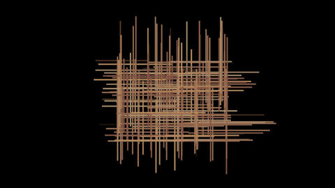 abstract lines cross... Stock Video Footage