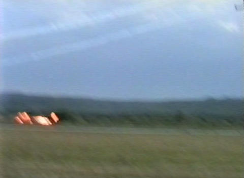 Ramstein Airshow Disaster crash 10906 Stock Video Footage