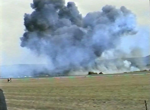 Ramstein Airshow Disaster crash 10906 Footage
