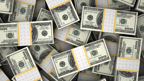 Billion Dollar Stock Video Footage