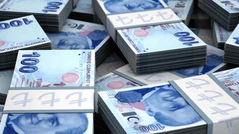 Billion Turkish Lira Animation