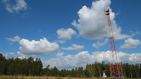 Communications tower Footage