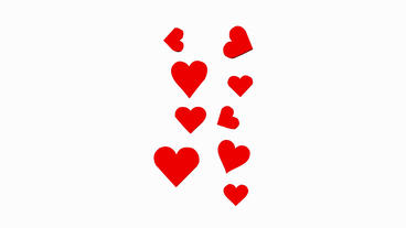 Rotation of heart.love,red,symbol,heart,valentine,romance,illustration,holiday Animation