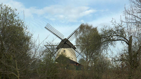historic windmill timelapse Footage