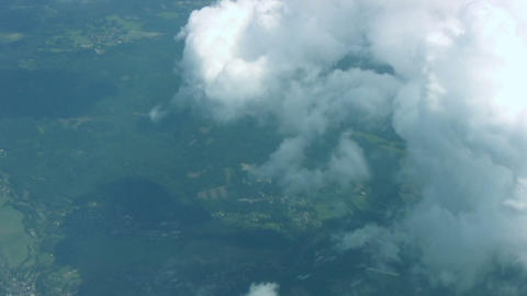 Land Below The Clouds stock footage