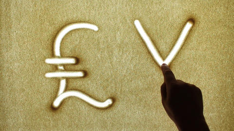 Currency Symbols Stock Video Footage