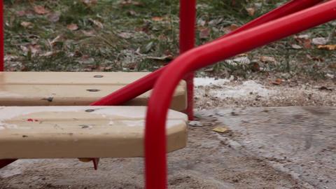 swings rotate Stock Video Footage