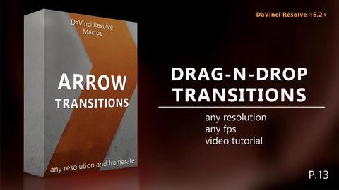 Drag-N-Drop Arrow Transitions