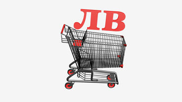 Shopping Cart with лв Leva... Stock Video Footage