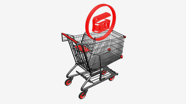 Shopping Cart and Treasure... Stock Video Footage