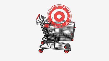 Shopping Cart and Tires.retail,buy,cart,shop,basket,sale,discount,supermarket Animation