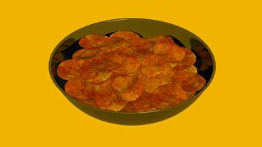 Rotation of Potato... Stock Video Footage