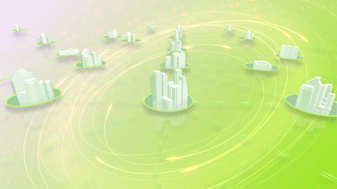 Network City 6 Aa HD Animation