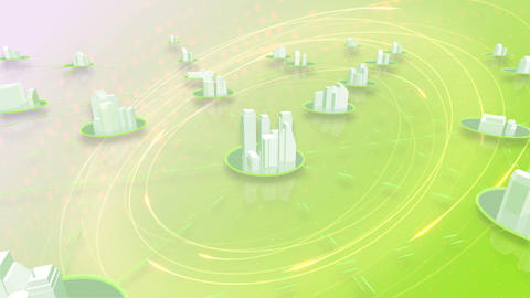 Network City 6 Aa HD Stock Video Footage