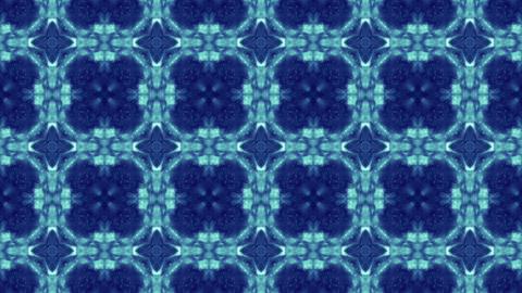 kaleide blue Stock Video Footage
