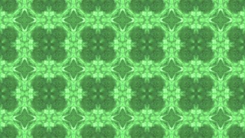 kaleide green Stock Video Footage