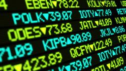 Stock Market Ticker Stock Video Footage