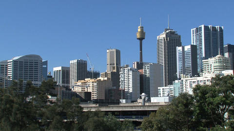 Sydney downtown Stock Video Footage