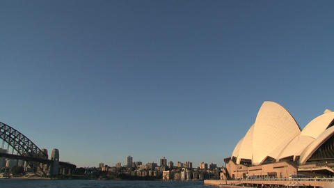 Opera house and Harbour Bridge Footage