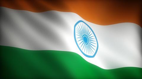 Flag of India Animation