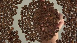 Symbol coffee Stock Video Footage