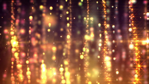 Gold Curtains Loop stock footage