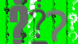 QUESTION MARKS Stock Video Footage