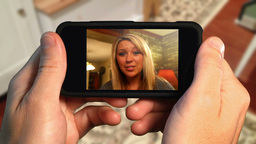 Video Chat on Phone Footage