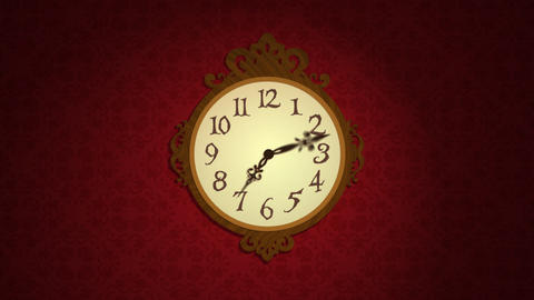 Mechanism clock Stock Video Footage