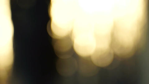Abstract Bokeh Downward Motion Stock Video Footage