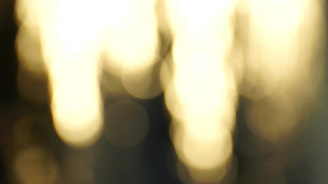 Abstract Bokeh Downward Motion stock footage