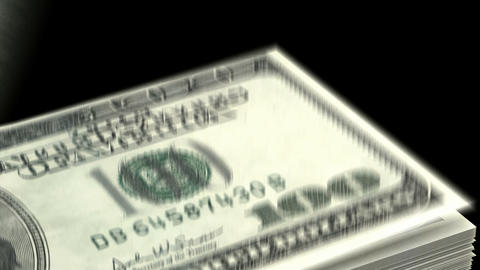 Counting Dollars Stock Video Footage