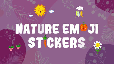 Nature Emoji Stikers