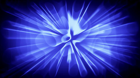 Abstract background with blue waves Stock Video Footage
