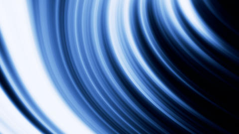 Animation of an abstract glowing background, blue tint Animation