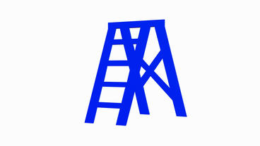 Rotation of 3D Ladder.step,object,success,tool,wooden,climb,construction,steplad Animation