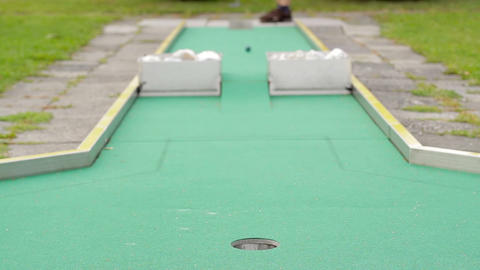 Mini golf Footage