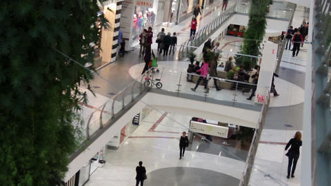 Mall Stock Video Footage